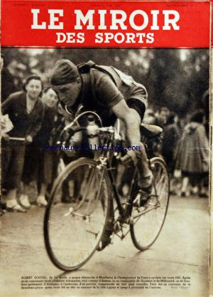 MIROIR DES SPORTS (LE) no:11 16/06/1941
