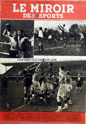 MIROIR DES SPORTS (LE) no:72 23/11/1942