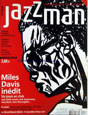JAZZ MAN no:117 01/10/2005