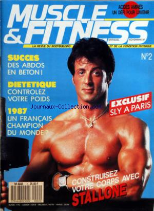 MUSCLE AND FITNESS no:2 01/11/1987