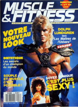 MUSCLE AND FITNESS no:3 01/12/1987