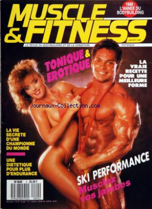 MUSCLE AND FITNESS no:4 01/01/1988