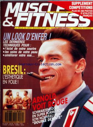 MUSCLE AND FITNESS no:10 01/07/1988