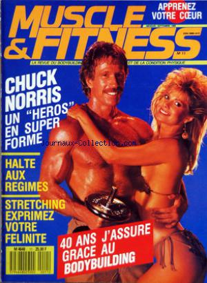 MUSCLE AND FITNESS no:11 01/09/1988