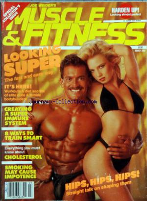 MUSCLE AND FITNESS no:3 01/03/1988