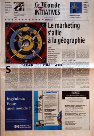 MONDE DES INITIATIVES (LE) no: 19/03/1996