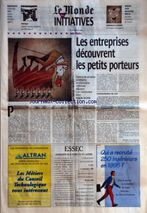 MONDE DES INITIATIVES (LE) no: 02/04/1996