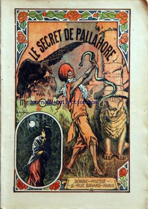 SECRET DE PALLAHORE (LE) no: