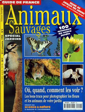 ANIMAUX SAUVAGES no:4 01/04/1998