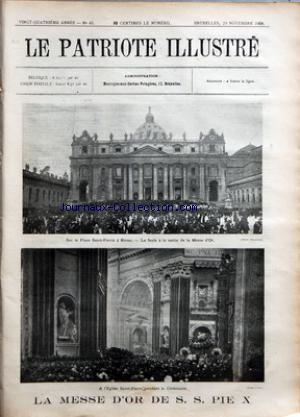 PATRIOTE ILLUSTRE (LE) no:48 29/11/1908
