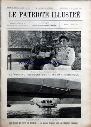 PATRIOTE ILLUSTRE (LE) no:46 15/11/1908