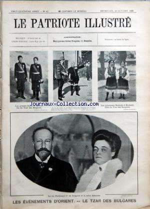 PATRIOTE ILLUSTRE (LE) no:42 18/10/1908