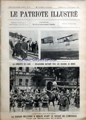 PATRIOTE ILLUSTRE (LE) no:37 13/09/1908