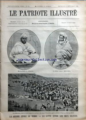 PATRIOTE ILLUSTRE (LE) no:36 06/09/1908