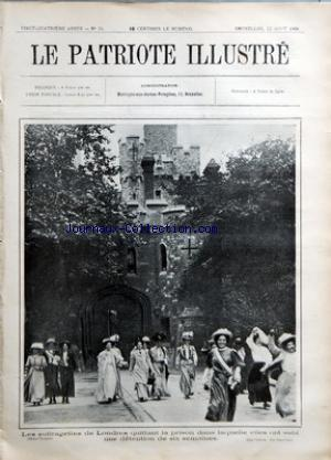 PATRIOTE ILLUSTRE (LE) no:34 23/08/1908