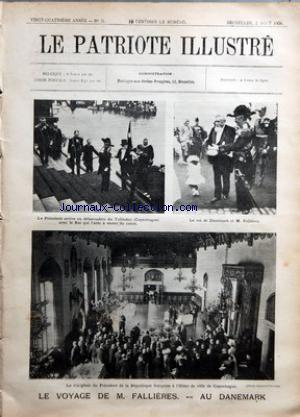 PATRIOTE ILLUSTRE (LE) no:31 02/08/1908