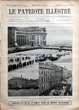 PATRIOTE ILLUSTRE (LE) no:30 26/07/1908
