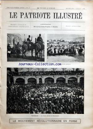 PATRIOTE ILLUSTRE (LE) no:27 05/07/1908