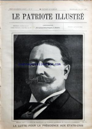 PATRIOTE ILLUSTRE (LE) no:26 28/06/1908