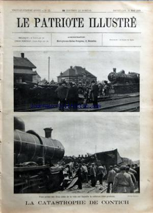 PATRIOTE ILLUSTRE (LE) no:22 31/05/1908