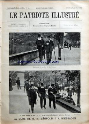 PATRIOTE ILLUSTRE (LE) no:21 24/05/1908