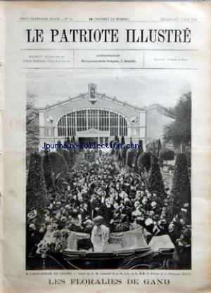 PATRIOTE ILLUSTRE (LE) no:18 03/05/1908