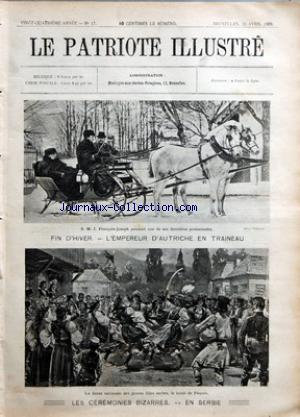 PATRIOTE ILLUSTRE (LE) no:17 26/04/1908