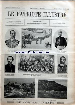PATRIOTE ILLUSTRE (LE) no:13 29/03/1908