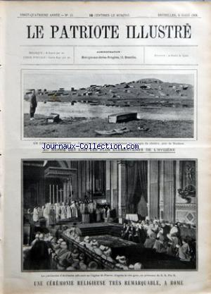 PATRIOTE ILLUSTRE (LE) no:10 08/03/1908