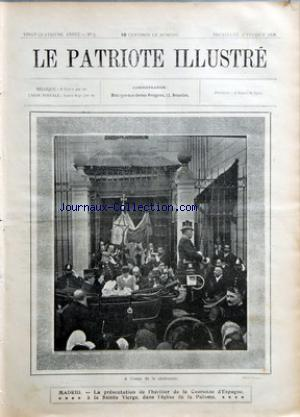 PATRIOTE ILLUSTRE (LE) no:5 02/02/1908