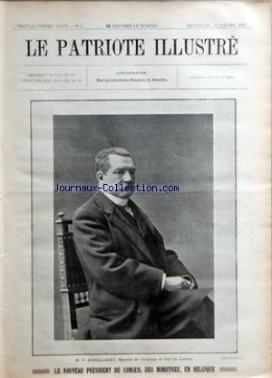PATRIOTE ILLUSTRE (LE) no:3 19/01/1908