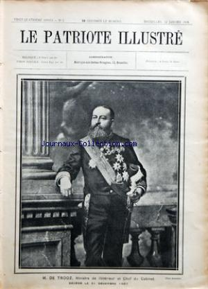 PATRIOTE ILLUSTRE (LE) no:2 12/01/1908