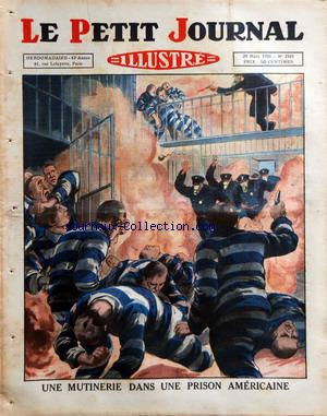 PETIT JOURNAL SUPPLEMENT ILLUSTRE (LE) no:2101 29/03/1931