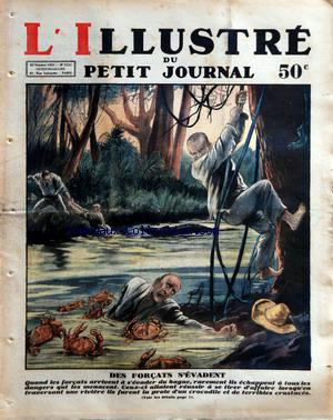 PETIT JOURNAL SUPPLEMENT ILLUSTRE (LE) no:2131 25/10/1931