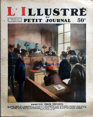 PETIT JOURNAL SUPPLEMENT ILLUSTRE (LE) no:2133 08/11/1931