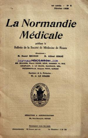 NORMANDIE MEDICALE (LA) no:2 01/02/1829