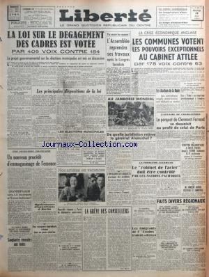 LIBERTE DU MASSIF CENTRAL no: 13/08/1947