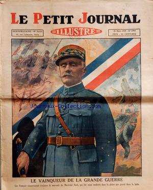 PETIT JOURNAL SUPPLEMENT ILLUSTRE (LE) no:1997 31/03/1929