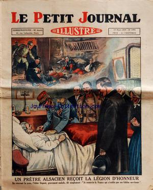 PETIT JOURNAL SUPPLEMENT ILLUSTRE (LE) no:1995 17/03/1929