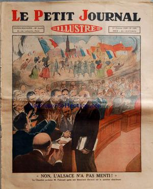 PETIT JOURNAL SUPPLEMENT ILLUSTRE (LE) no:1991 17/02/1929