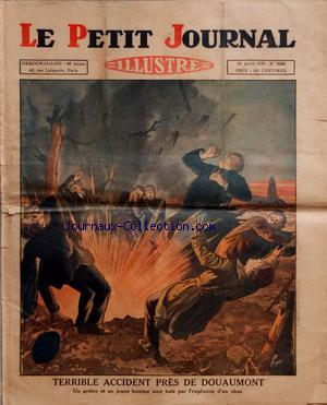 PETIT JOURNAL SUPPLEMENT ILLUSTRE (LE) no:2000 21/04/1929