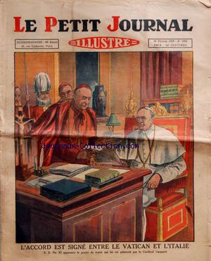 PETIT JOURNAL SUPPLEMENT ILLUSTRE (LE) no:1992 24/02/1929