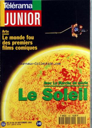 TELERAMA JUNIOR no:140 24/09/1994