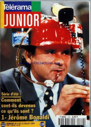 TELERAMA JUNIOR no:129 09/07/1994