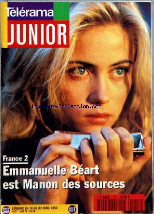TELERAMA JUNIOR no:117 16/04/1994