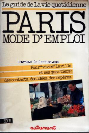 PARIS MODE D'EMPLOI no:23