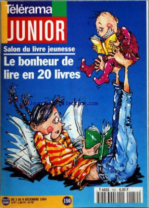 TELERAMA JUNIOR no:150 03/12/1994