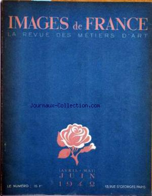 IMAGES DE FRANCE PLAISIR DE FRANCE no:86 01/04/1942