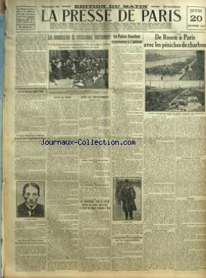 PRESSE DE PARIS (LA) no:18 20/11/1919
