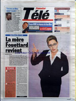 FRANCE SOIR TELE no: 15/10/2006
